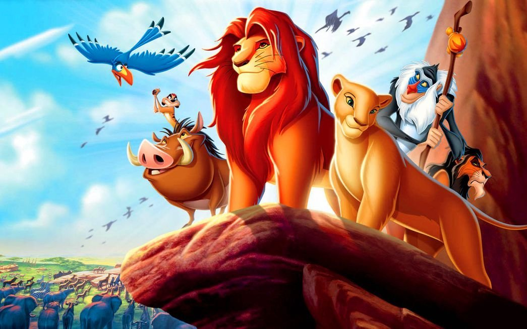 073 The Lion King Inch Silk Poster Aka Wallpaper Wall - Lion King Hd , HD Wallpaper & Backgrounds