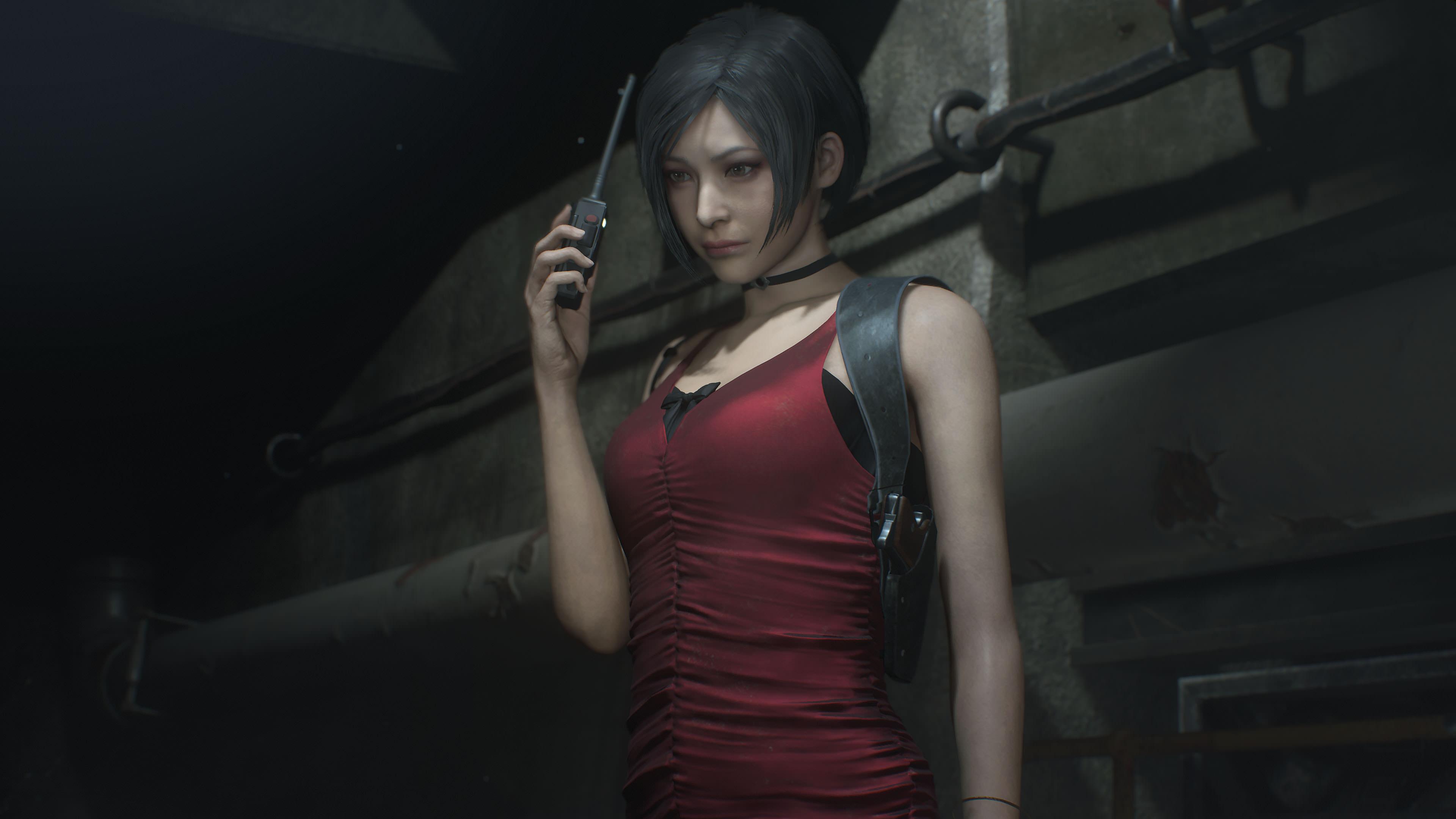Resident Evil 2 Ada Wong 4k Ultra Hd Wallpaper Resident Evil 2