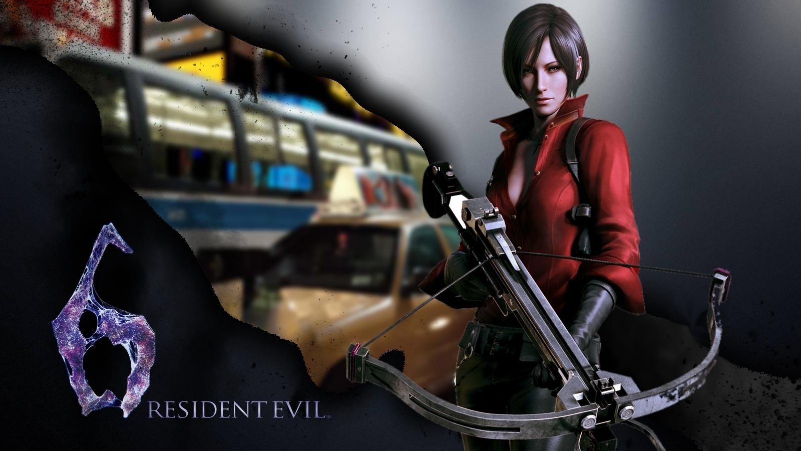 Ada Wong Resident Evil 6 Wallpaper - Resident Evil 6 , HD Wallpaper & Backgrounds