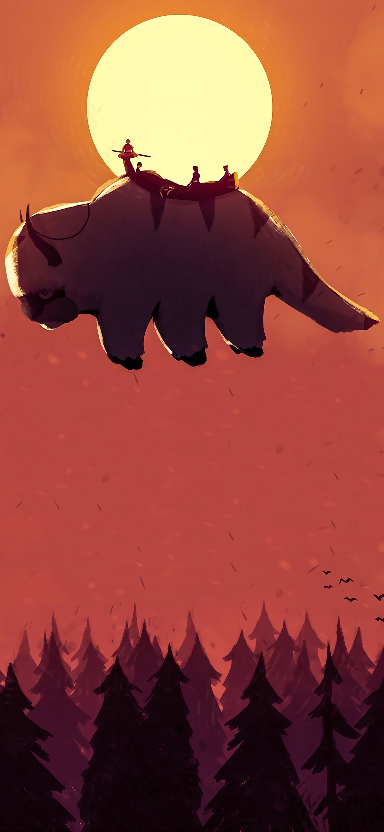 The Last Airbender Avatar The Last Airbender Phone Background