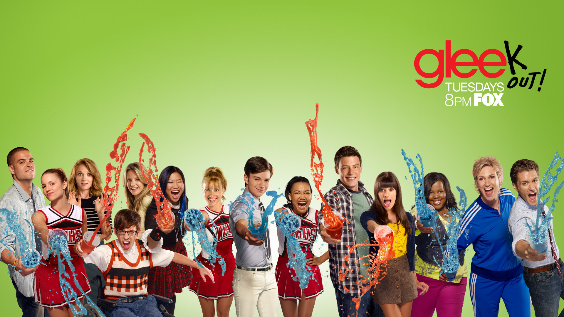 Apple Abstract Source - Glee Hd , HD Wallpaper & Backgrounds