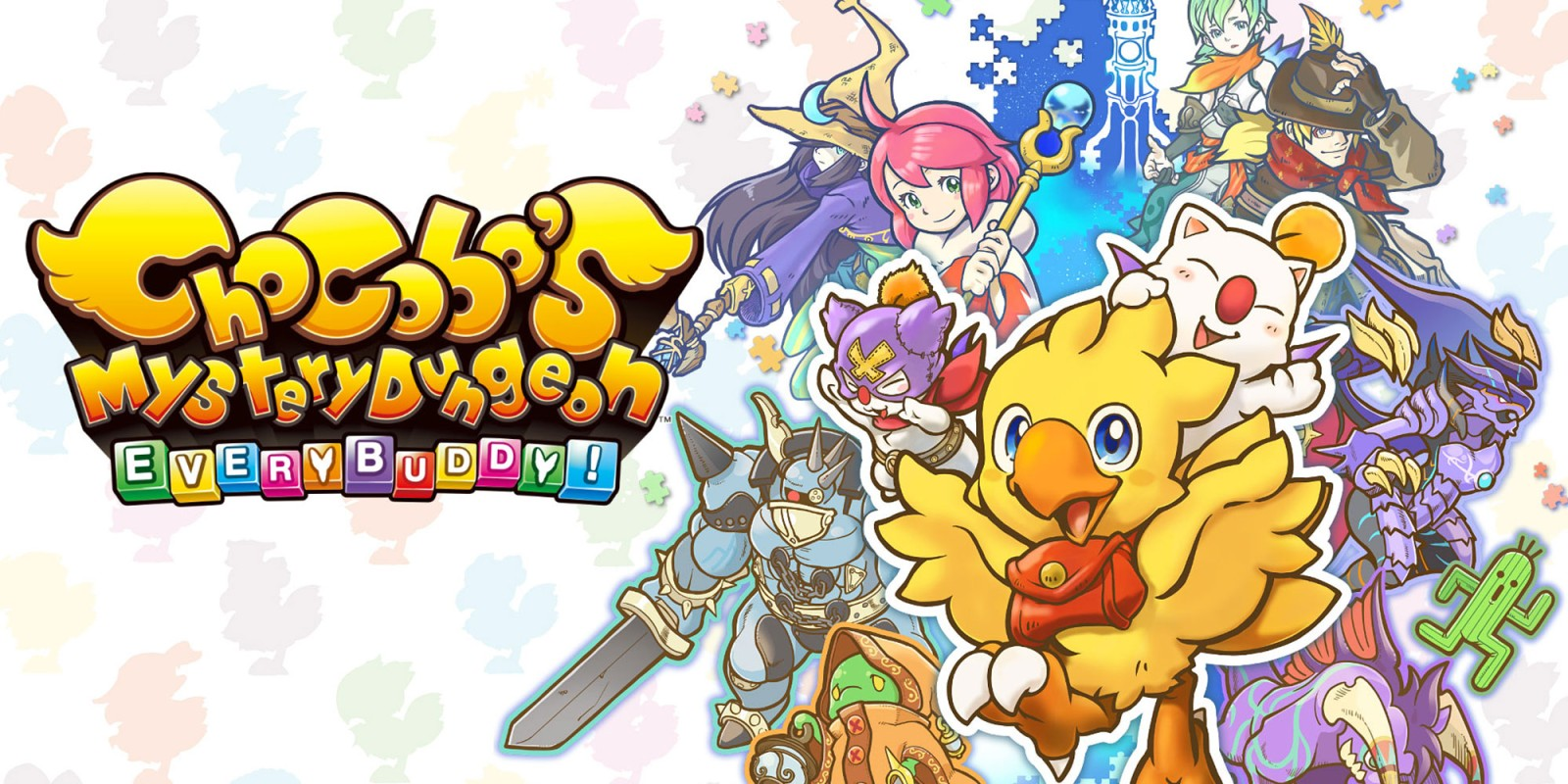 Chocobos Mystery Dungeon Every Buddy 1688664 Hd