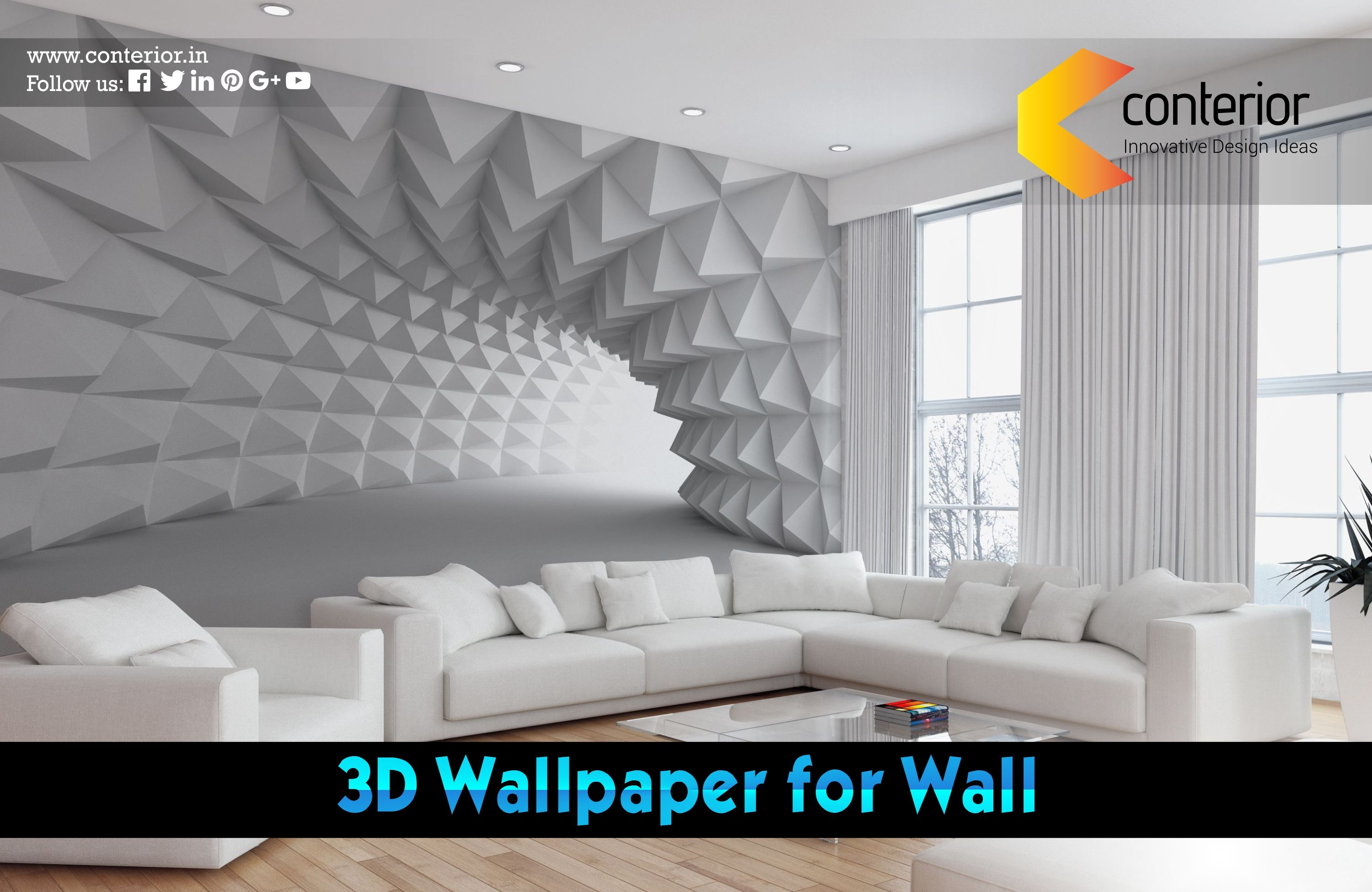3d Wallpapers Give The Illusion Added Depth 3d