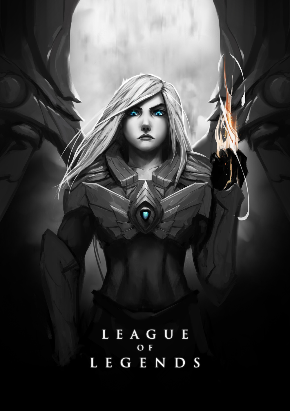 Kayle By Wacalac Hd Wallpaper Fan Art Artwork League Fan Art Jax