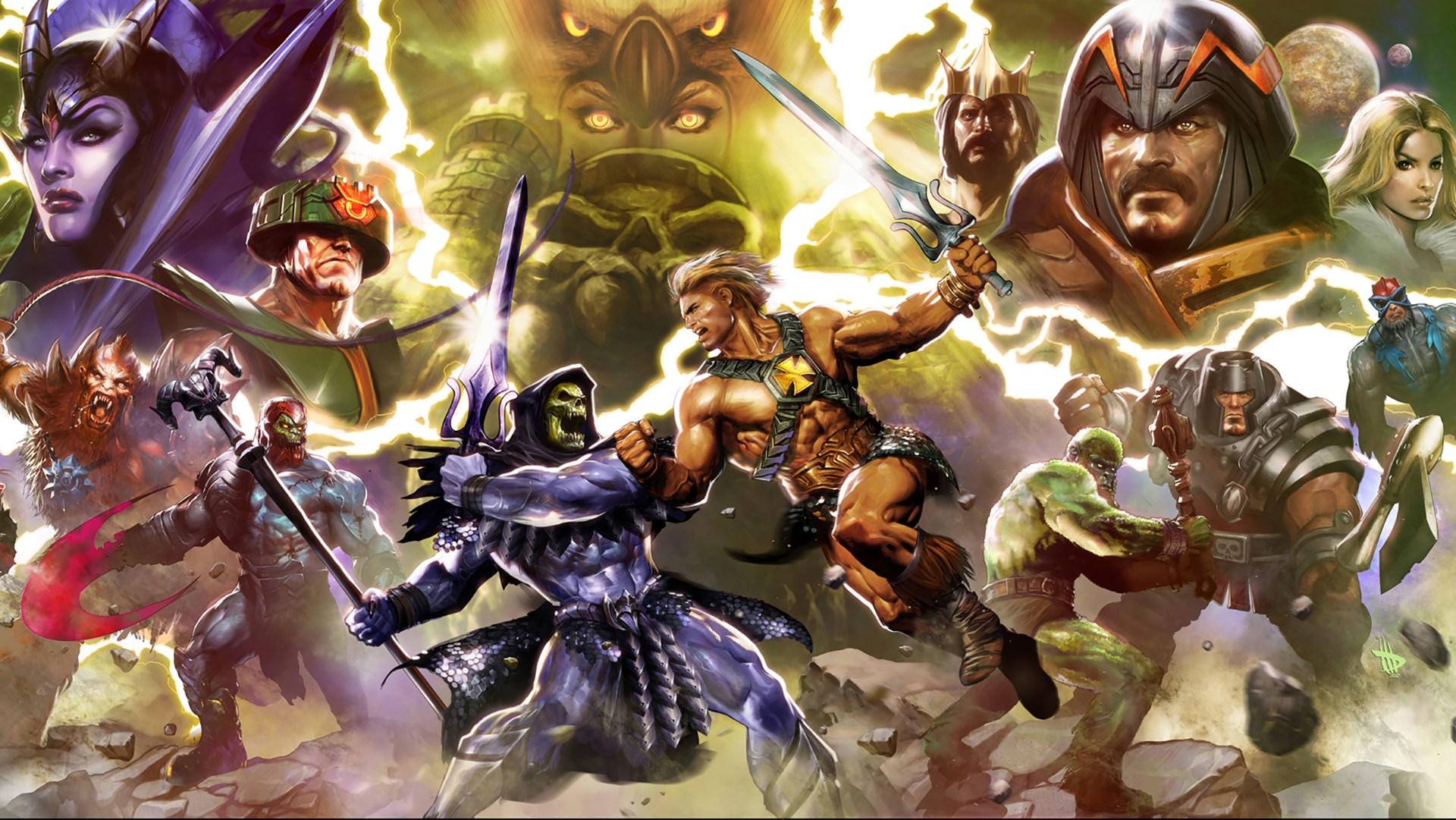 Skeletor Masters Of The Universe He Man 1080p Hd Wallpaper He