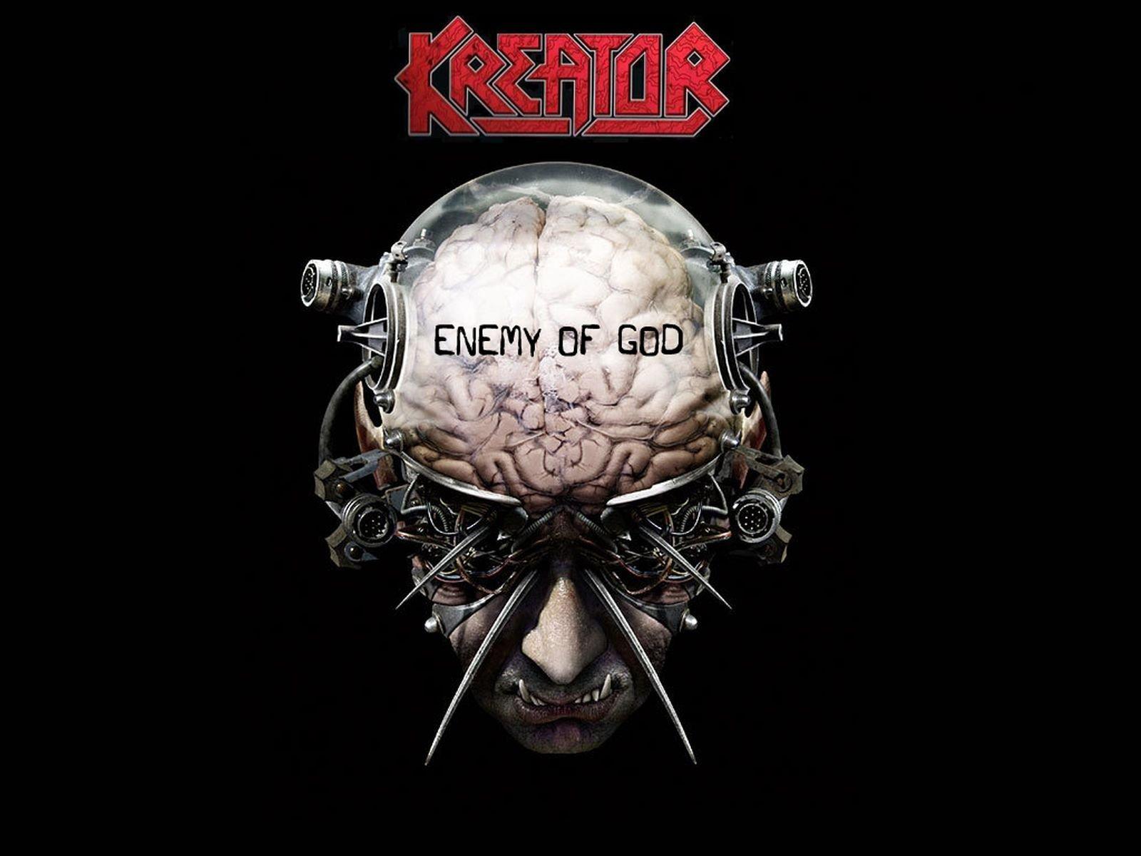 Kreator Wallpaper Kreator Enemy Of God Album 1695697