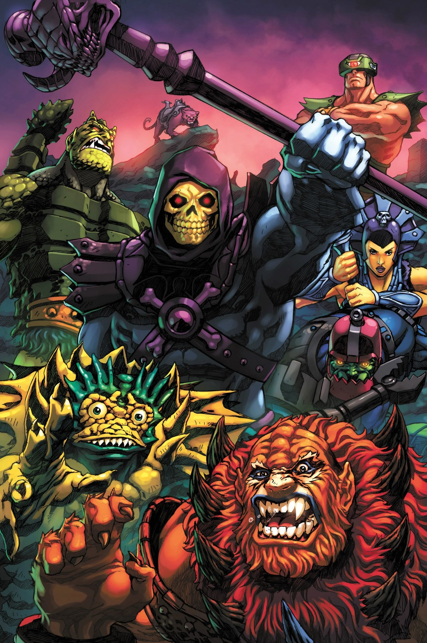 Skeletor Wallpaper 68 Images Masters Of The Universe Art