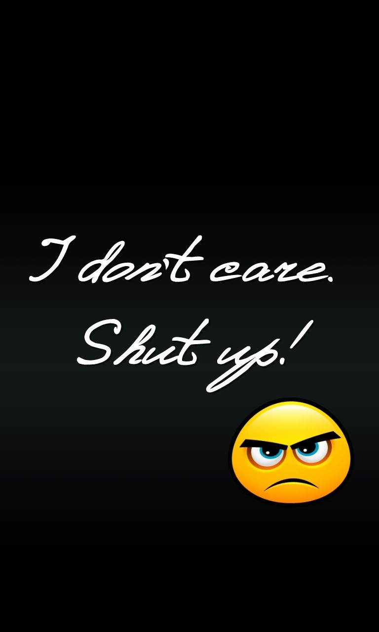 I Dont Care I Love It Wallpaper Free I Dont Care Phone - Darkness , HD Wallpaper & Backgrounds