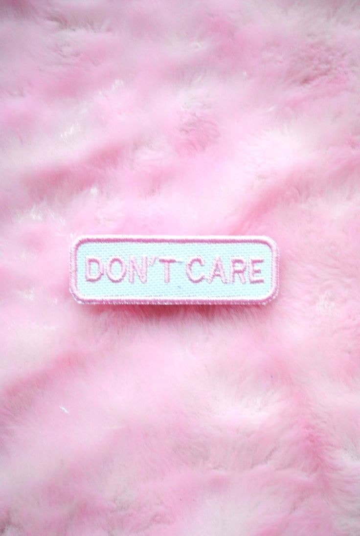 Don T Care Aesthetic , HD Wallpaper & Backgrounds