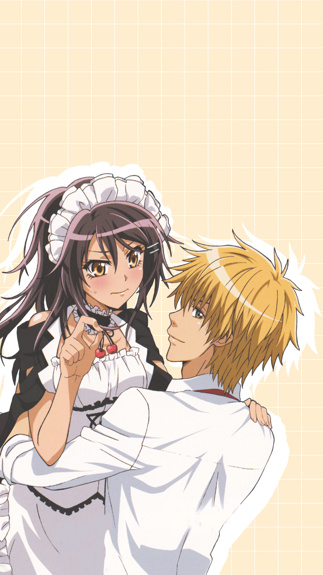 ♡wallpapers And Lockscreen♡ ♡ Kaichou Wa Ma - Kaichou Wa Maid Sama Wallpaper Iphone , HD Wallpaper & Backgrounds
