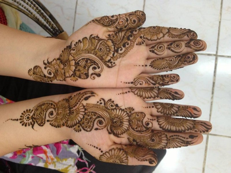 Mehendi Design Wallpaper - Fancy Mehndi Ke Designs , HD Wallpaper & Backgrounds