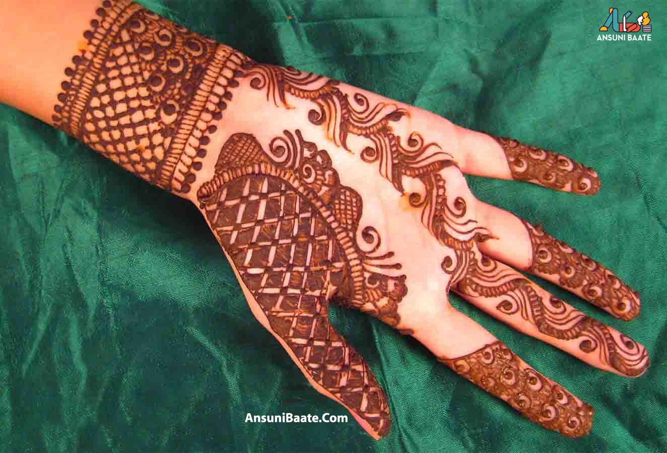 Bridal Mehndi, Dulhan Mehndi Design, Arabic Mehndi - Pakistani Simple Mehndi Design , HD Wallpaper & Backgrounds