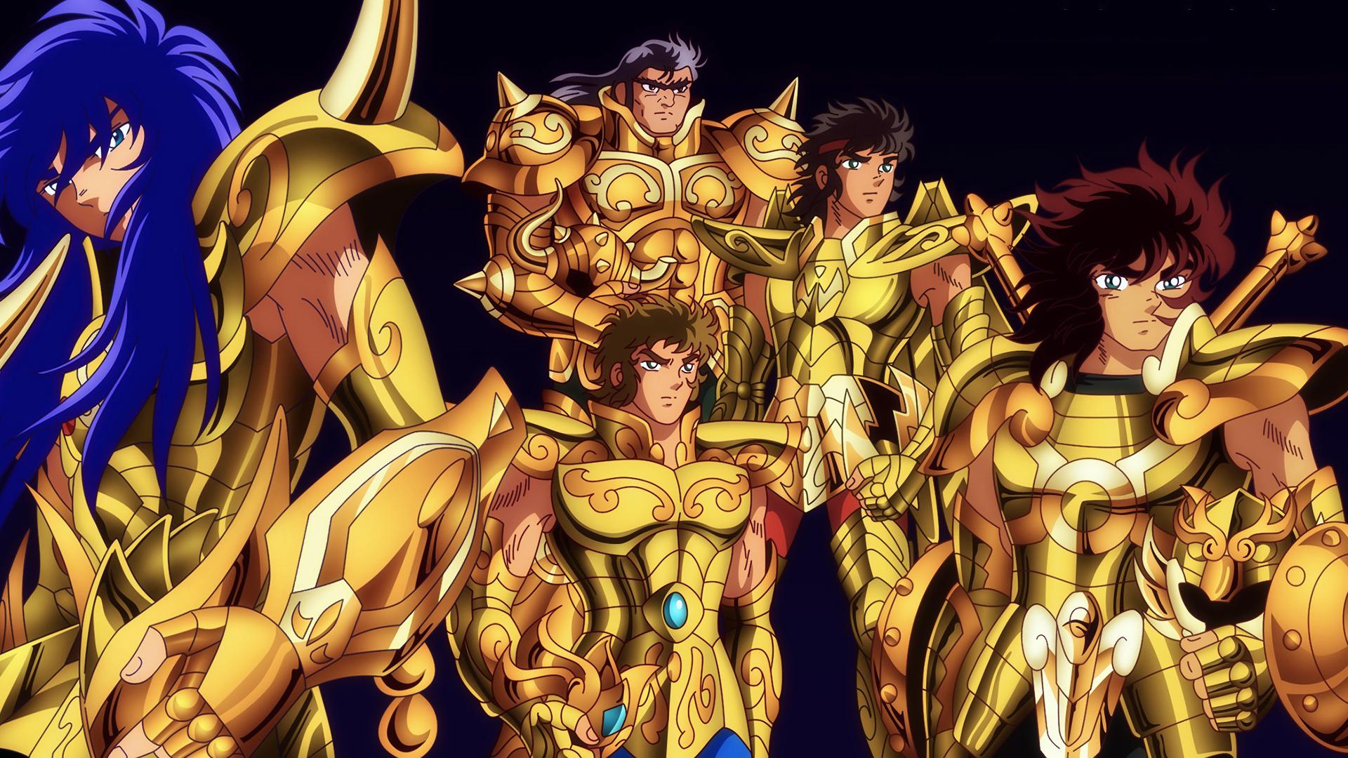 Golden Saints Hd Wallpaper Saint Seiya 171054 Hd Wallpaper