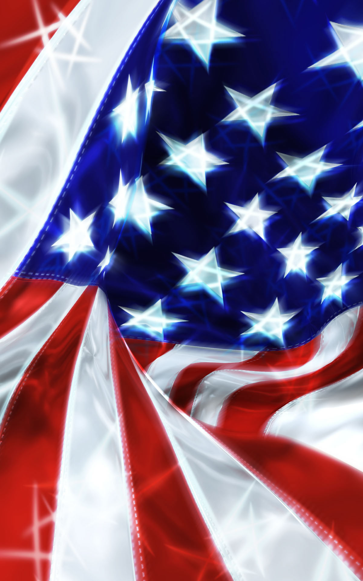 Usa Flagwallpaper Celebration Wallpaper 1920×1200 - American Flag , HD Wallpaper & Backgrounds