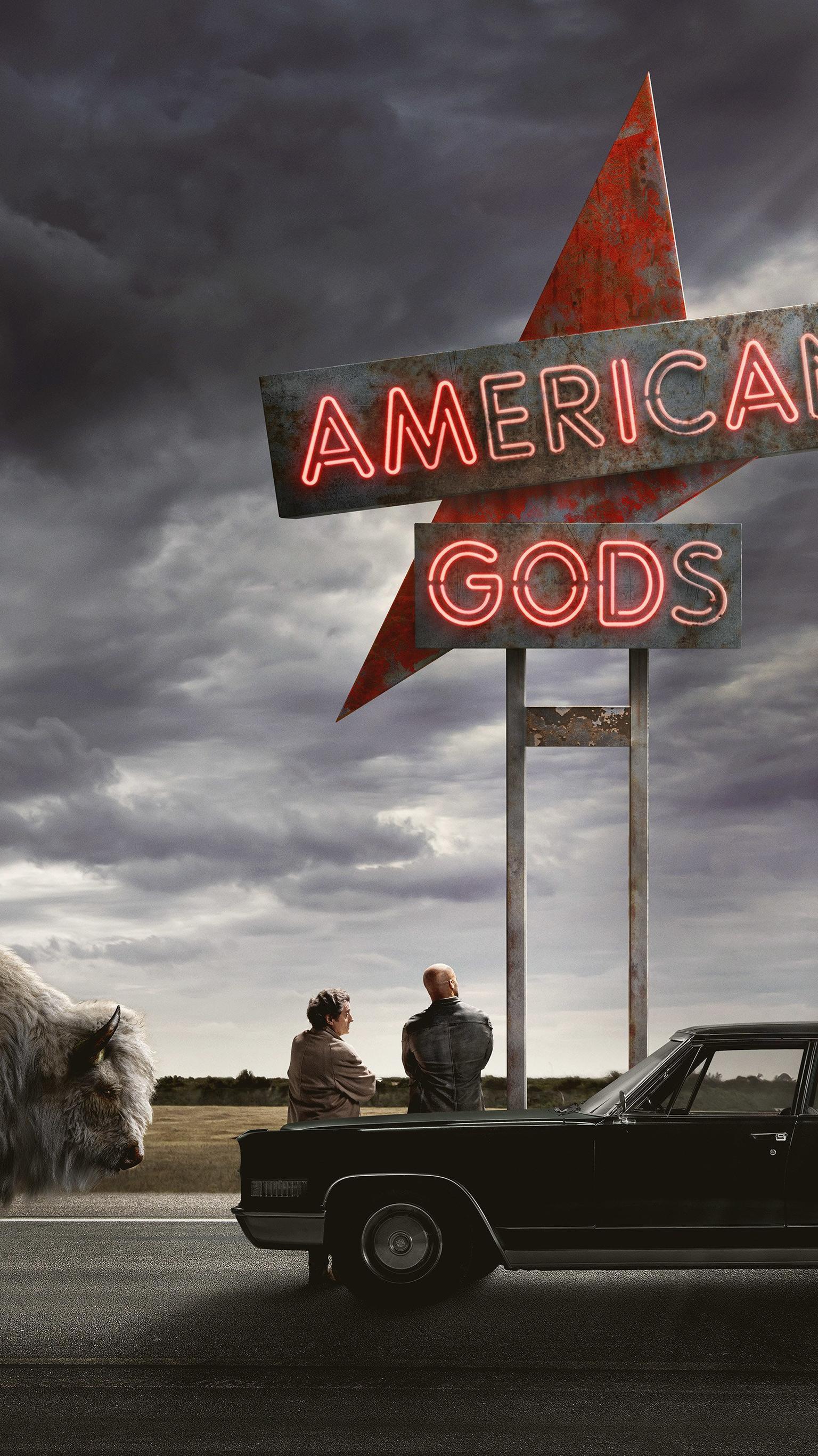 American Gods Phone Wallpaper - American Gods Season 2 Itunes , HD Wallpaper & Backgrounds