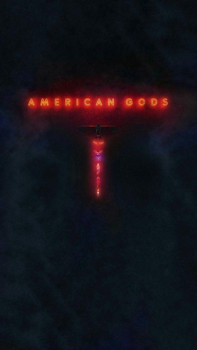 American Gods Wallpaper - Darkness , HD Wallpaper & Backgrounds