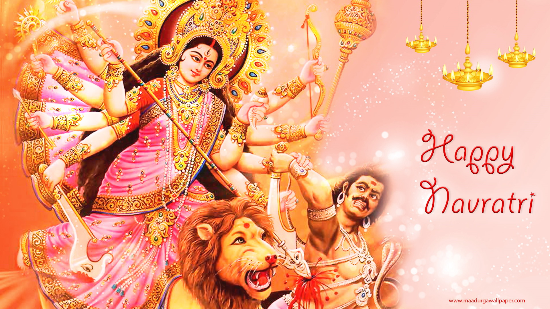 Maa Durga Kill Mahishasur 173997 Hd Wallpaper Backgrounds Download
