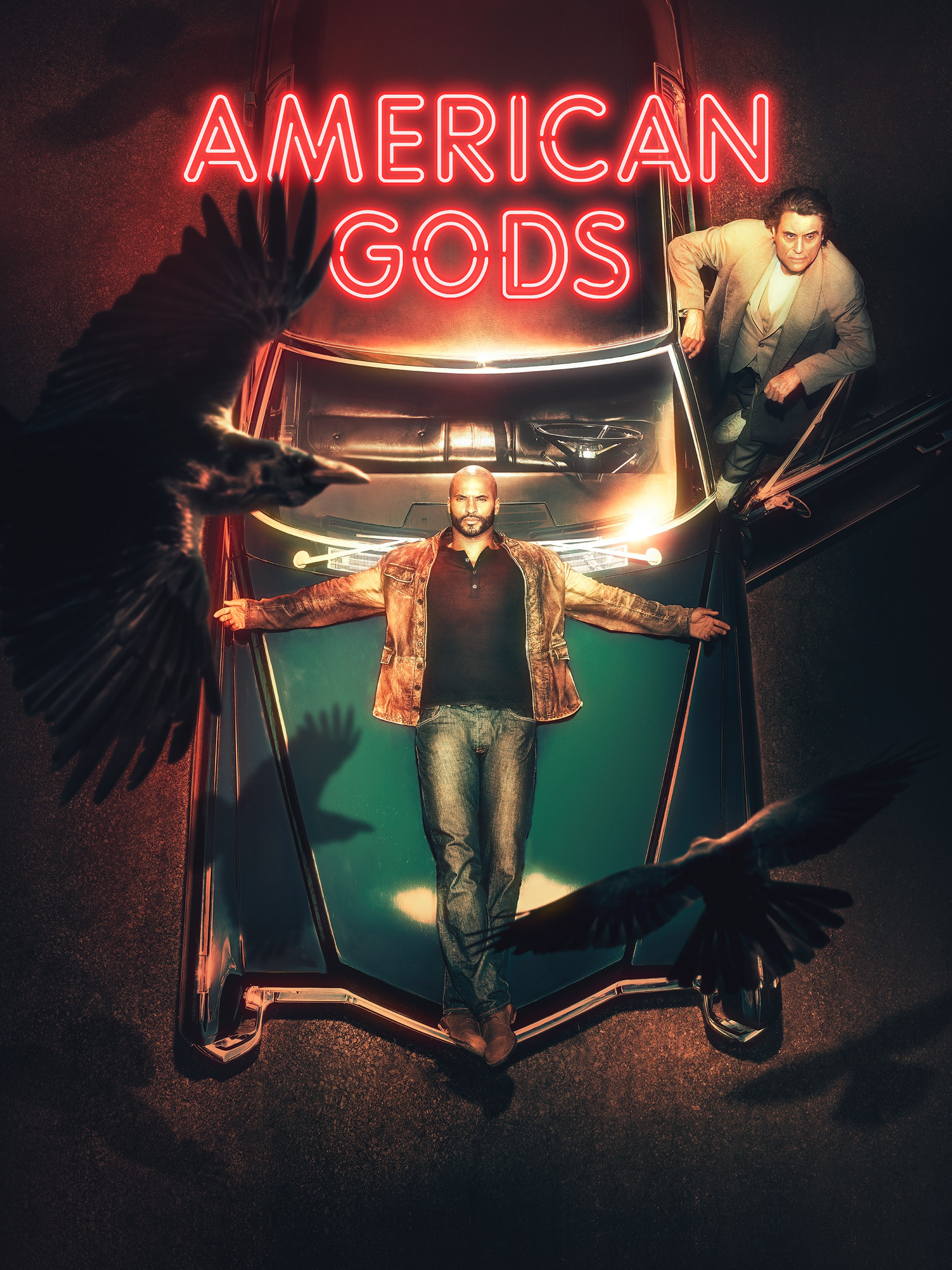 American Gods Segunda Temporada , HD Wallpaper & Backgrounds