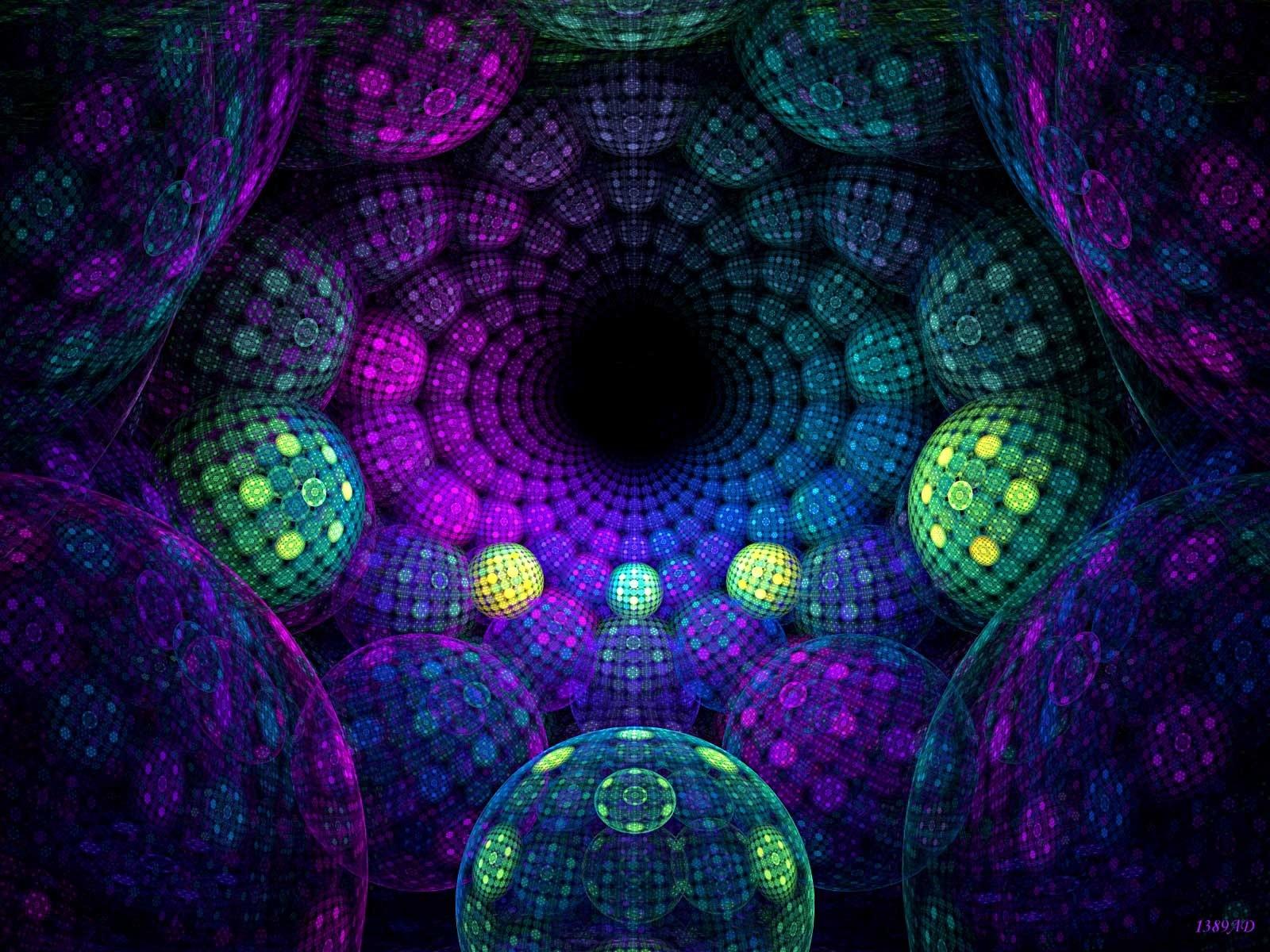 Psychedelic Tunnel Wallpaper Plano De Fundo Psicodelico 175016