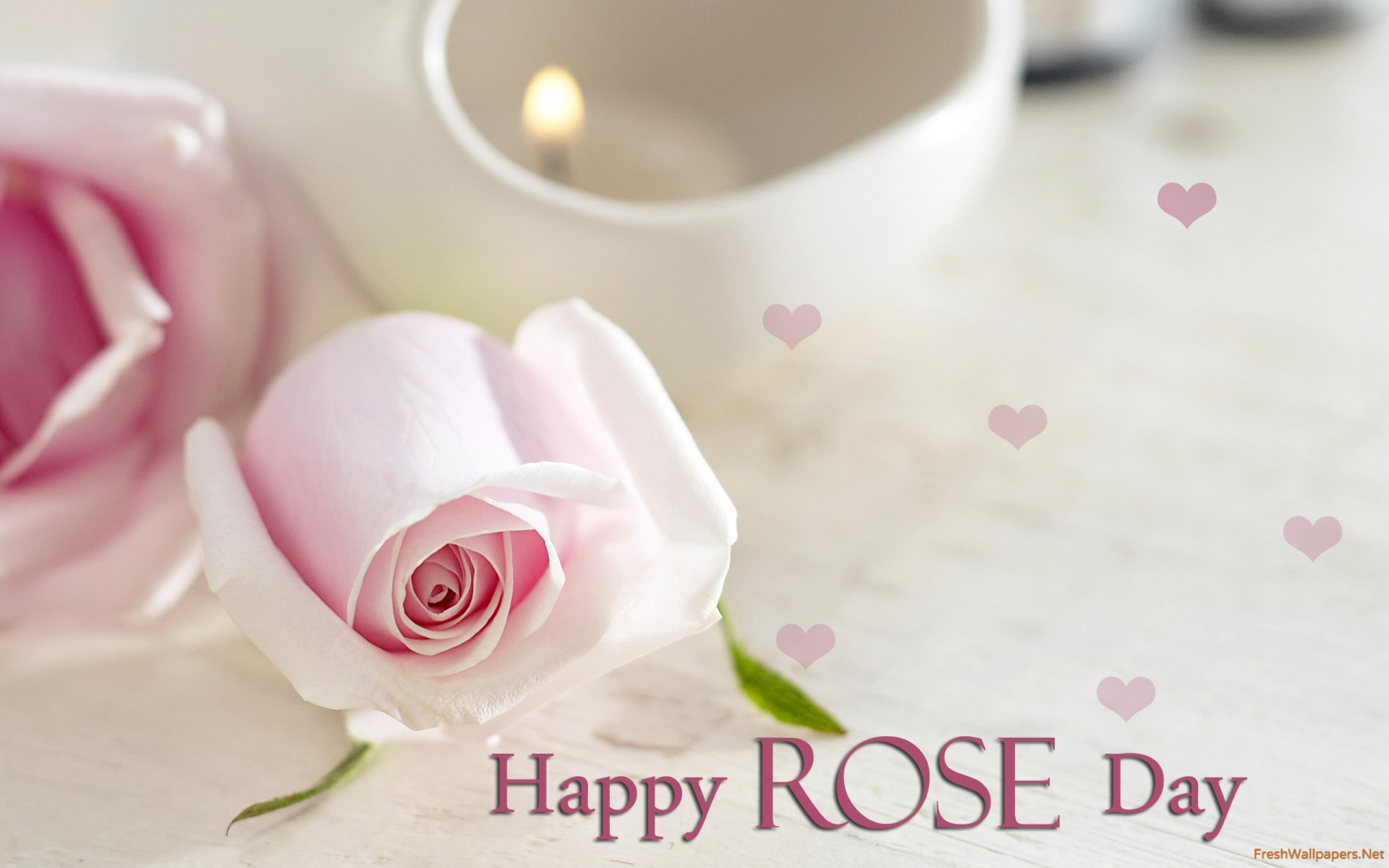 Happy Rose Day Wallpaper - Rose Day Wishes For Boyfriend , HD Wallpaper & Backgrounds