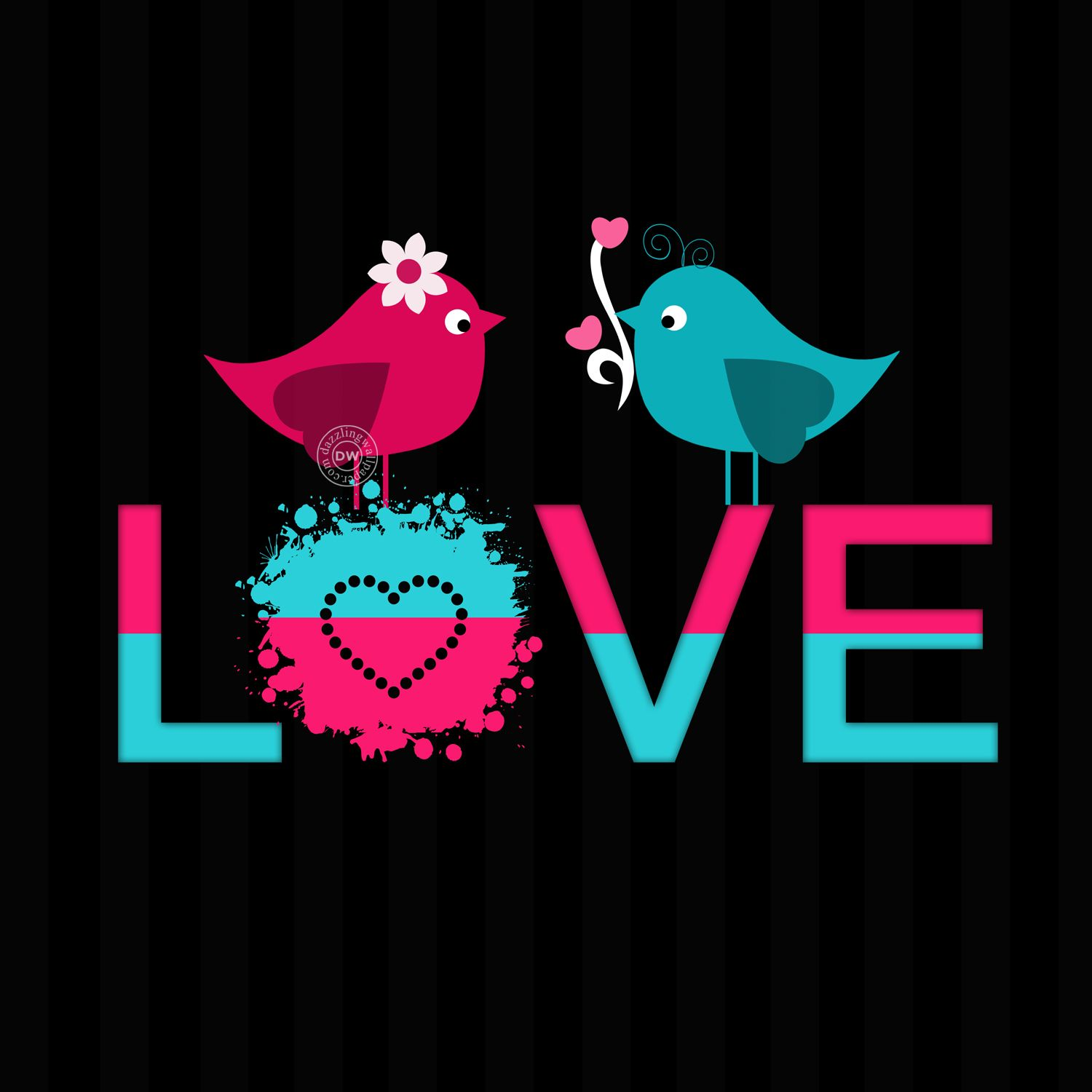 Love Bird Mobile Wallpaper And Whatsapp Dp Love Romance