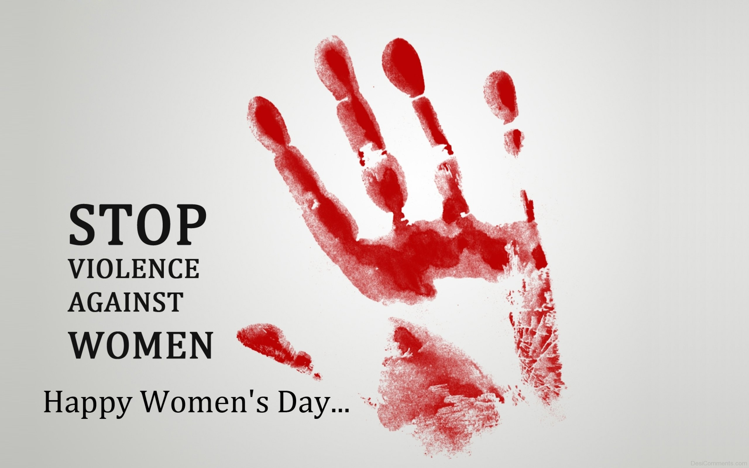 Stop Violence Against Women Happy Women Day - Happy Womens Day Quotes , HD Wallpaper & Backgrounds