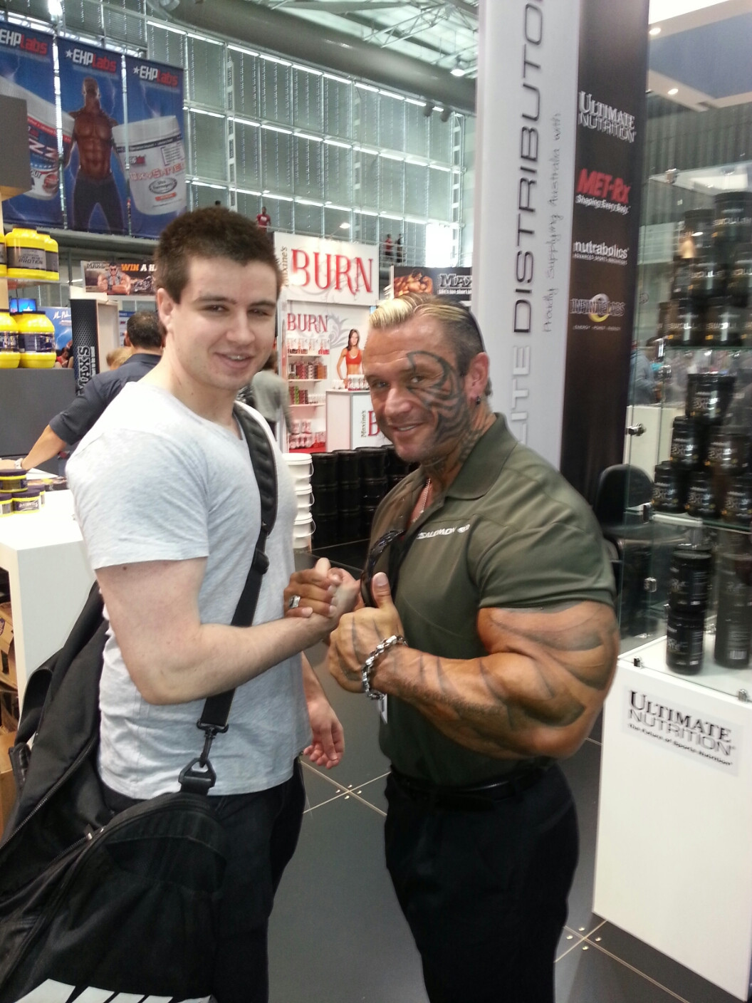 [view Image] - Lee Priest Jay Cutler , HD Wallpaper & Backgrounds
