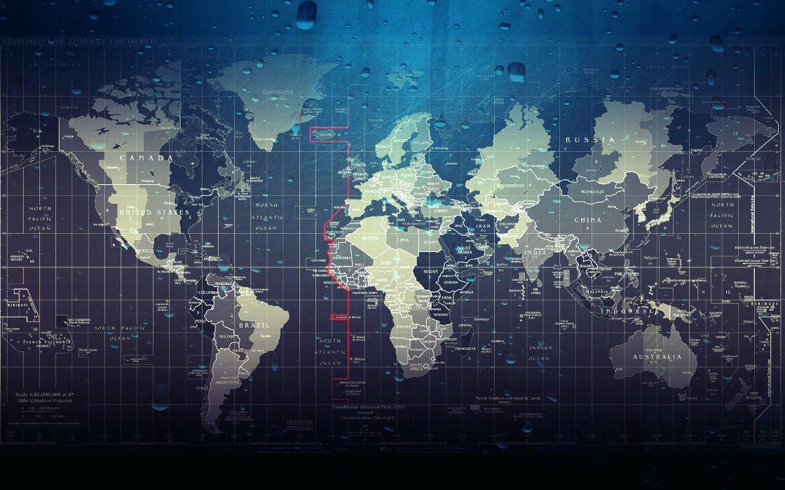Map Wallpaper Wet Maps Water Drops World Map Wallpaper