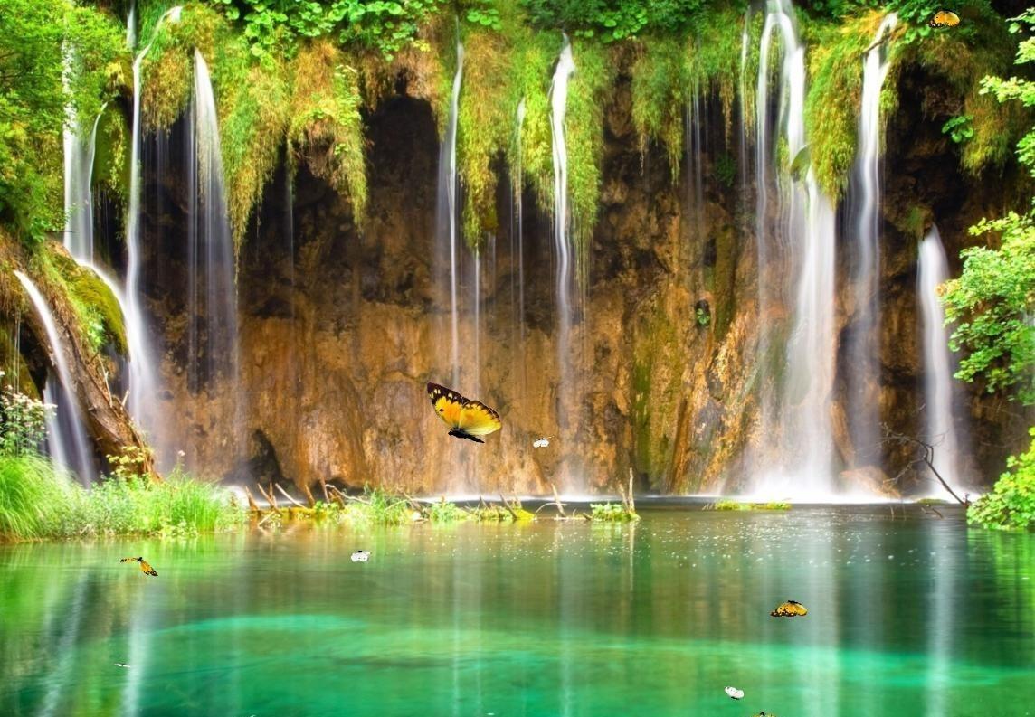 3d Moving Waterfall 1702862 Hd Wallpaper