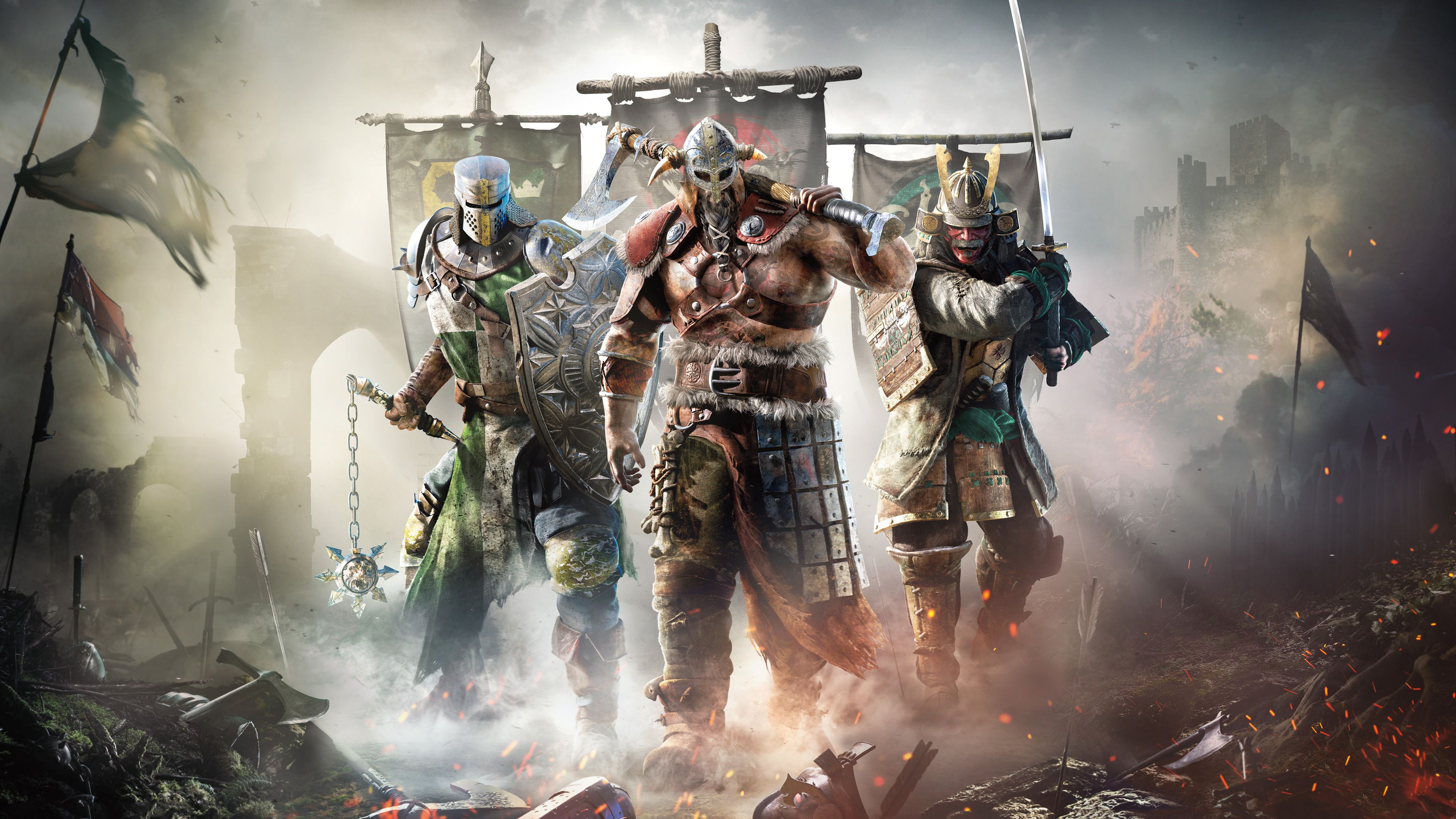 For Honor Game New 4k Xbox Games Wallpapers Ps - Game For Honor , HD Wallpaper & Backgrounds