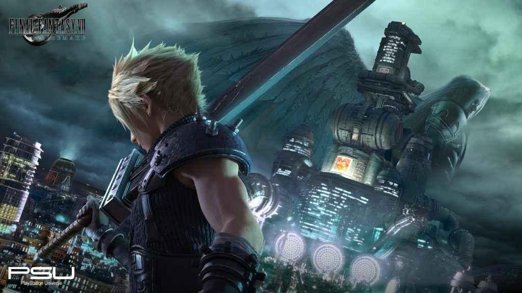 Final Fantasy 7 Remake Wallpaper 4k - Final Fantasy 7 Remake New Art , HD Wallpaper & Backgrounds