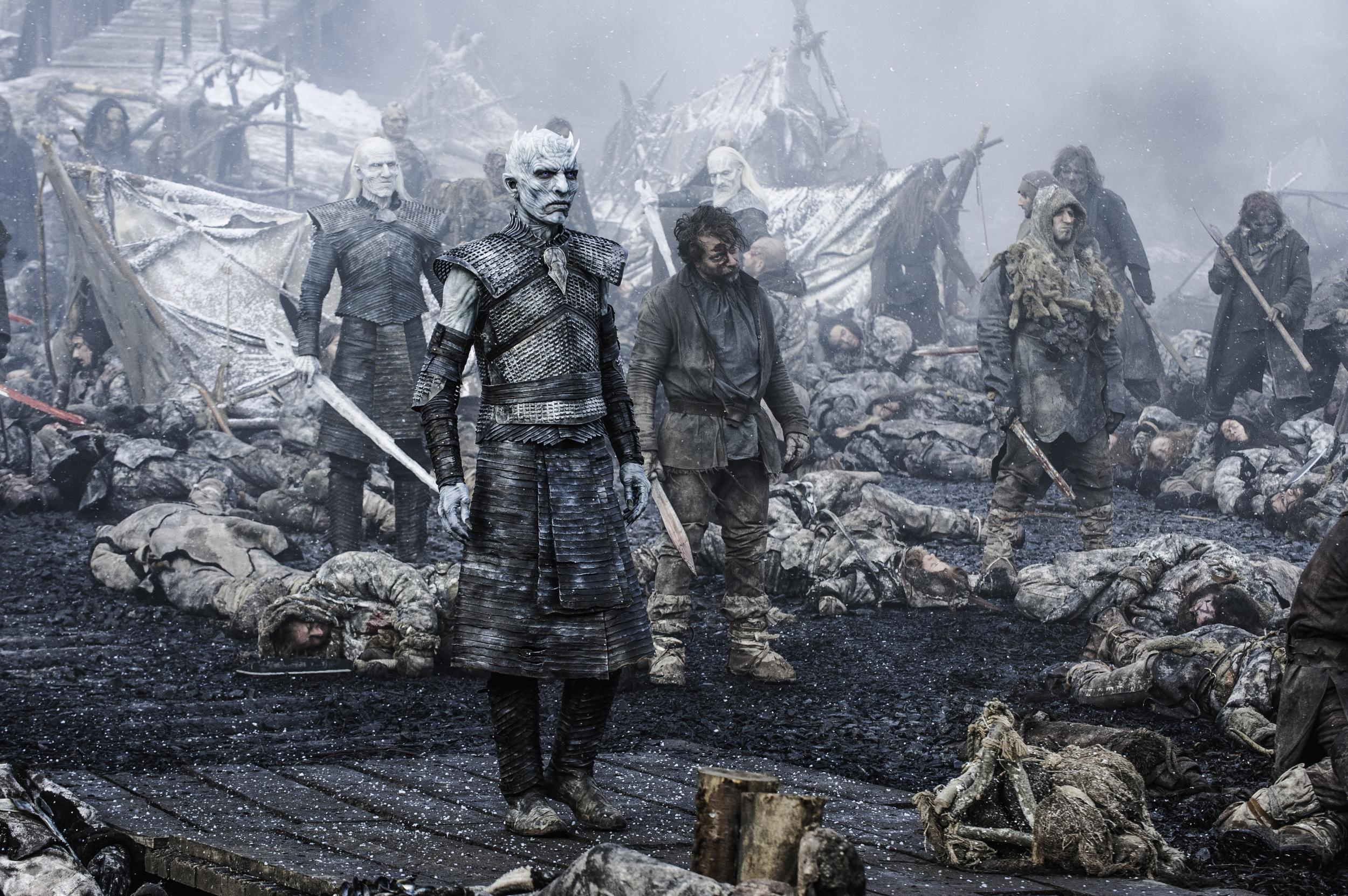 White Walkers Game Of Thrones Night King Wallpaper Hd