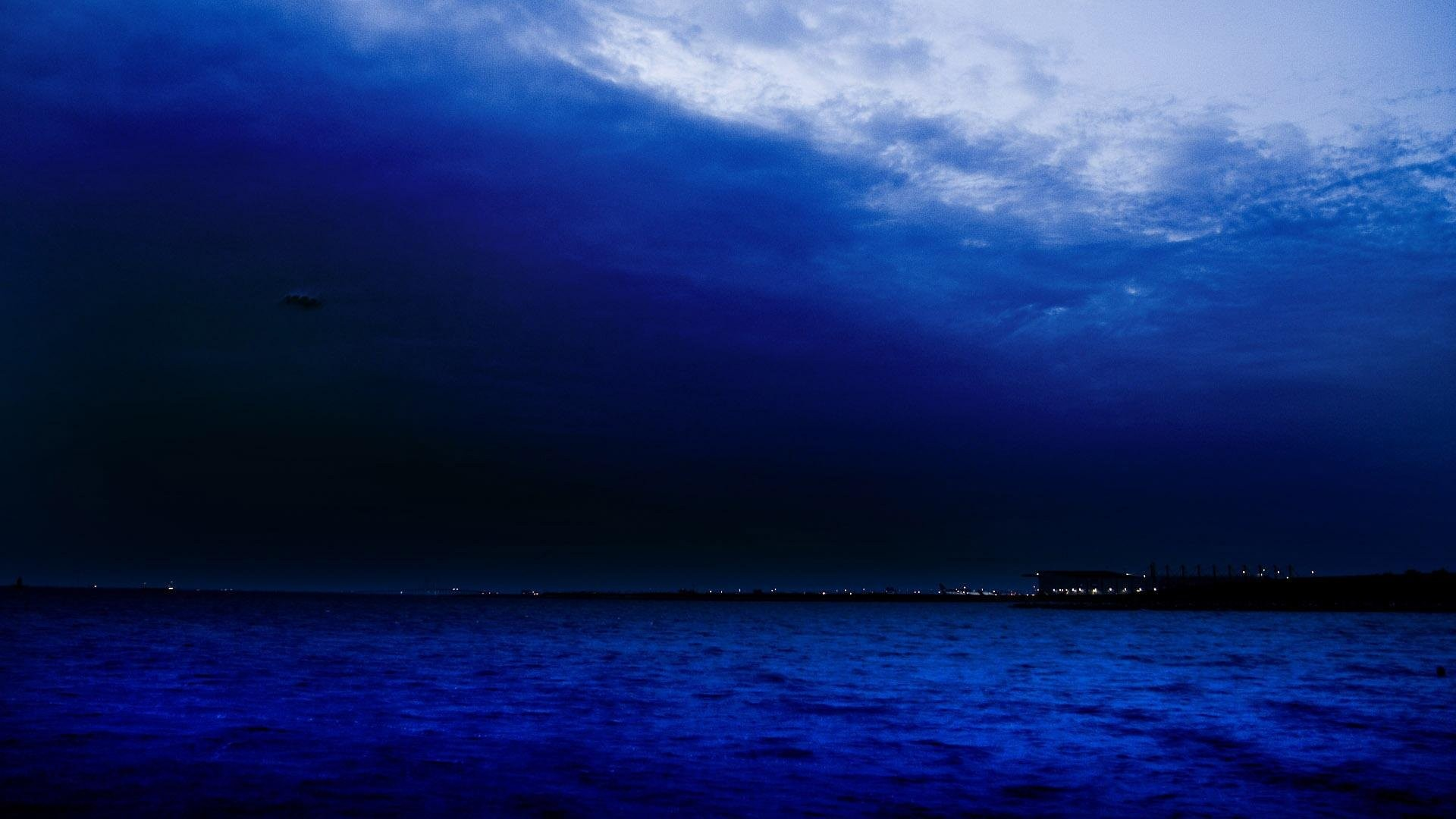 Nature, Free, Sea, Ocean Mobile Wallpapers,android, - Dark Blue Sea Sky , HD Wallpaper & Backgrounds