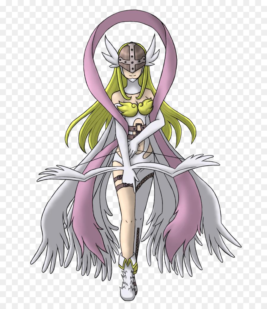 Digimon World Gatomon Palmon Agumon Angemon Angemon Girl