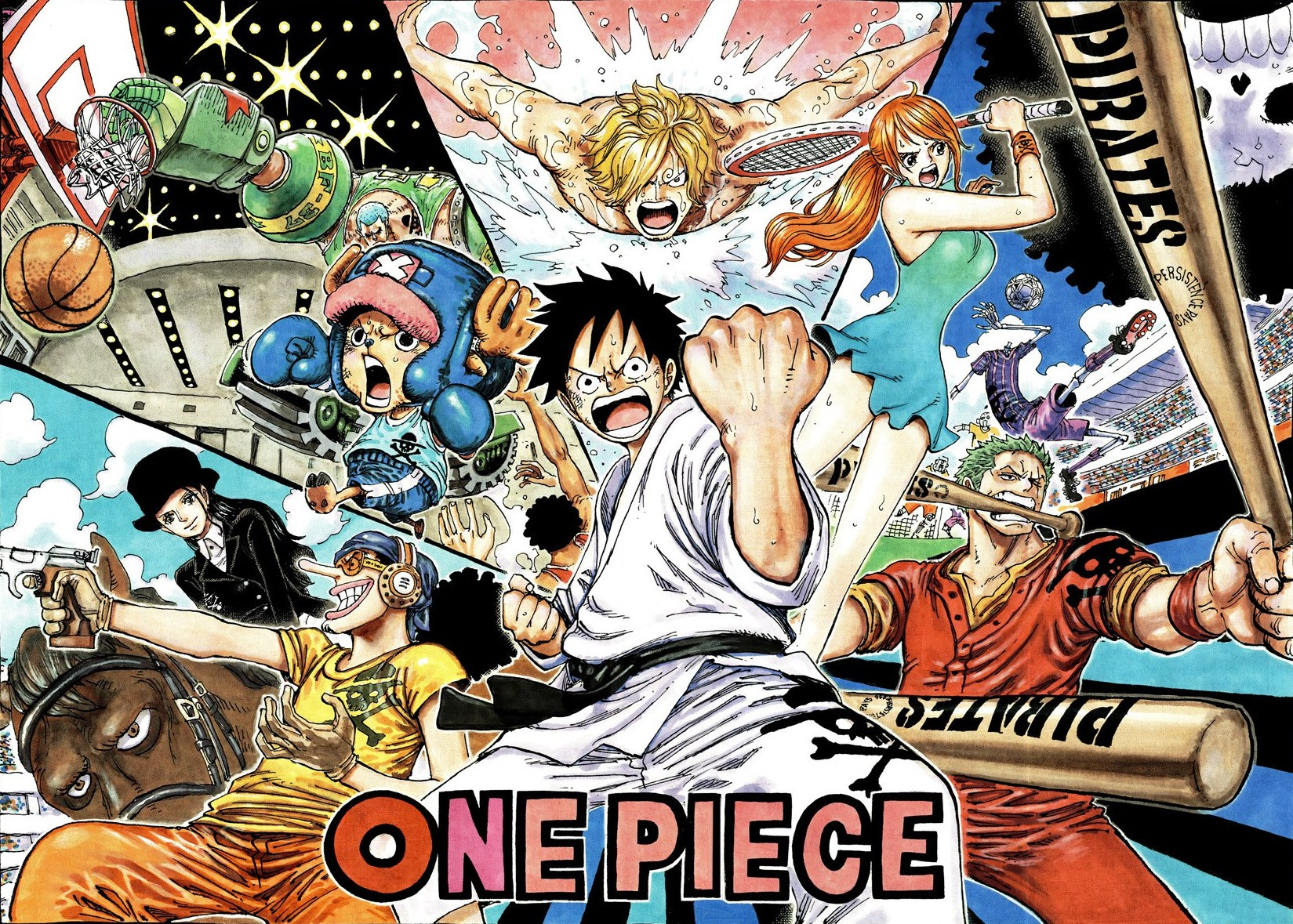 One Piece Cover Pages 1717335 Hd Wallpaper