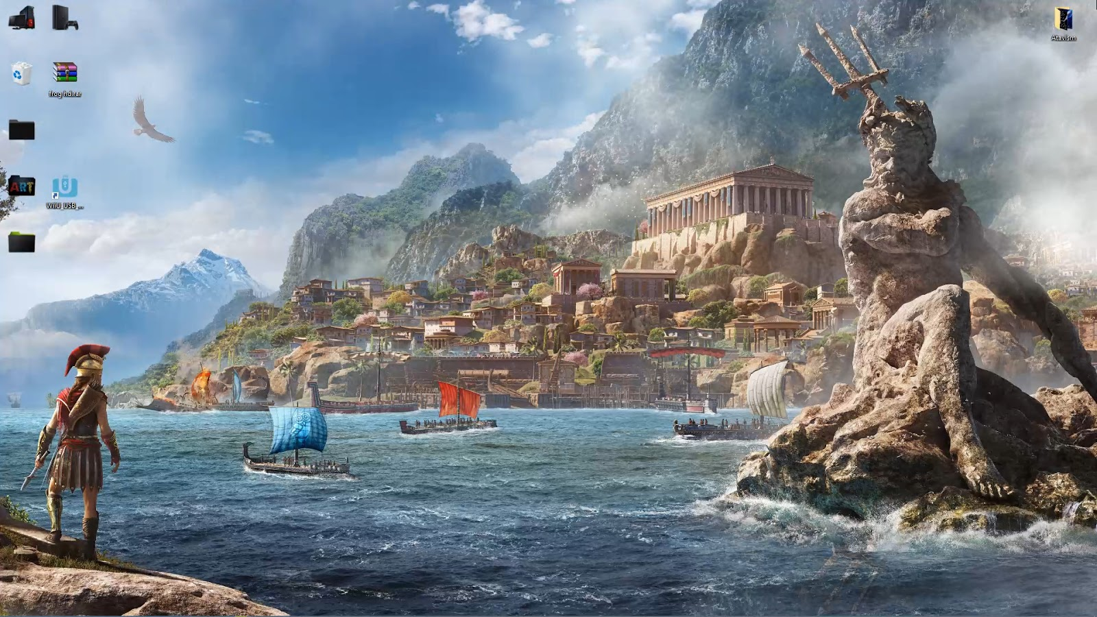 Wallpaper Engine 4k Assassins Creed Odyssey Poseidon Artwork