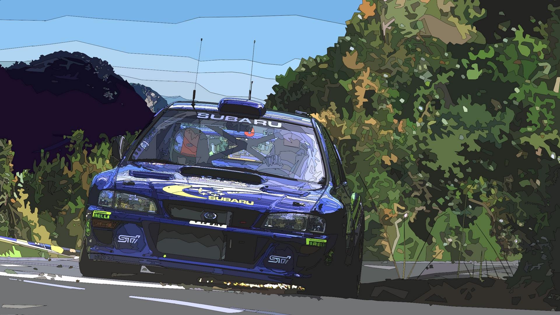 Wallpaper Richard Burns Rally Racing Sci Entertainment Rally