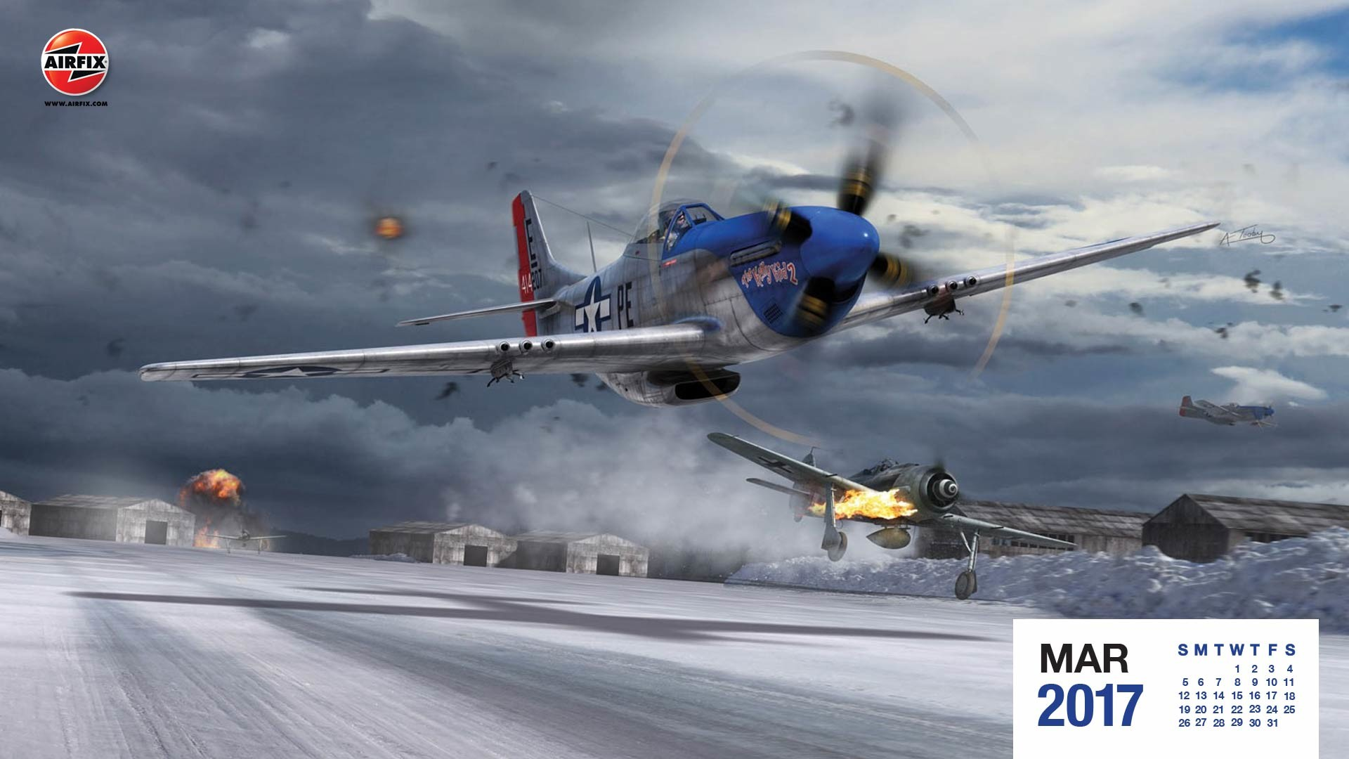 P 51 Wallpapers North American P 51d Mustang Airfix 1 72