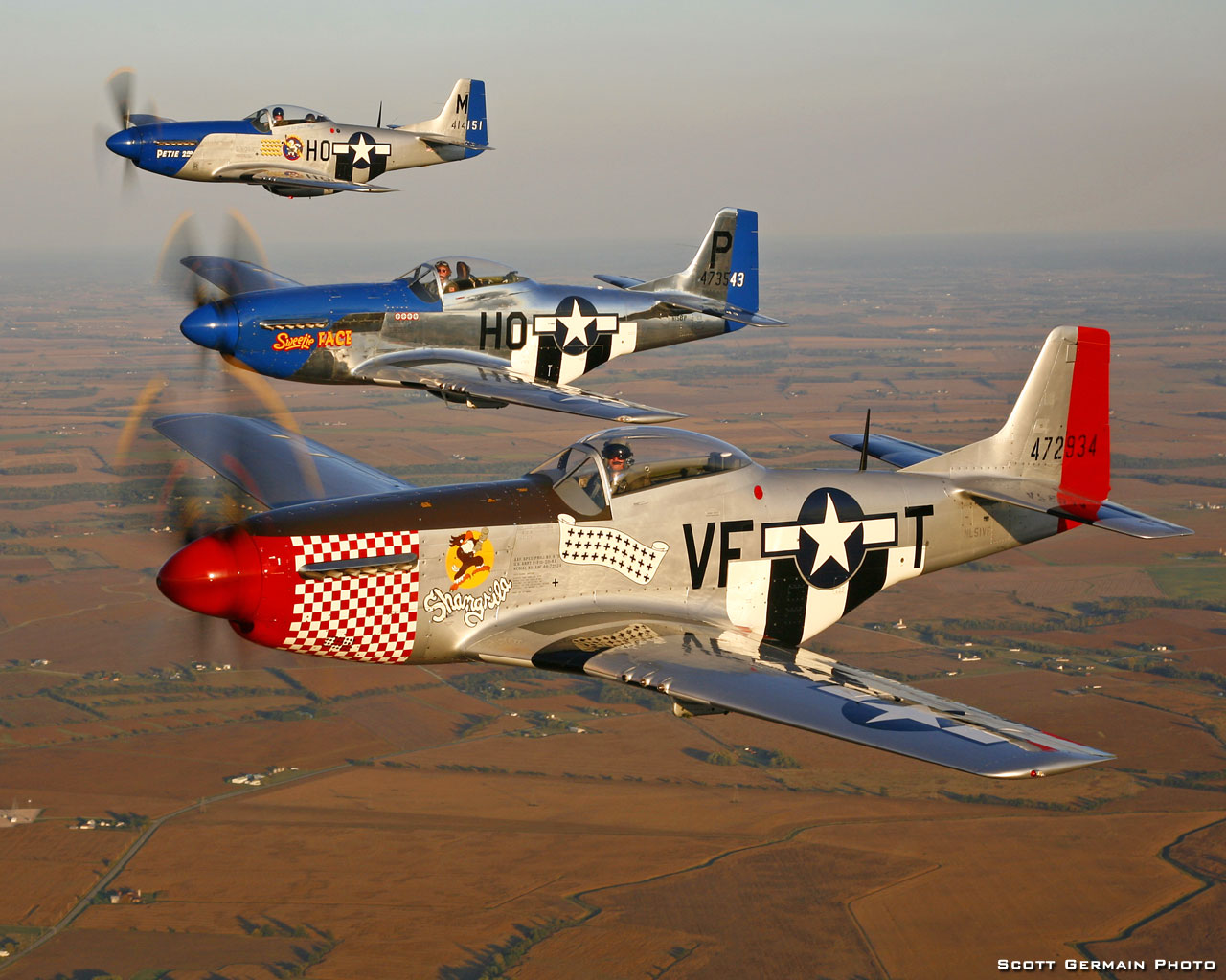 North American P 51 Mustang Wallpaper P51d Shangri La 1723093