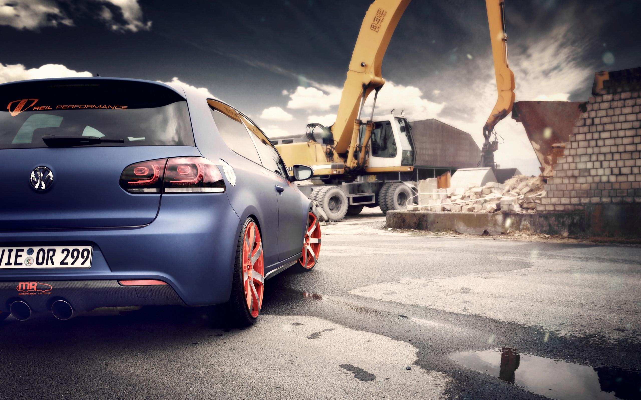 2012 Bbm Volkswagen Golf Golf 6 1723932 Hd Wallpaper