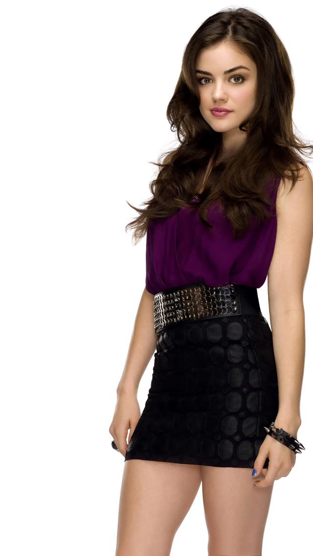 Lucy Hale Cutie Pie - Lucy Hale On Pretty Little Liars , HD Wallpaper & Backgrounds