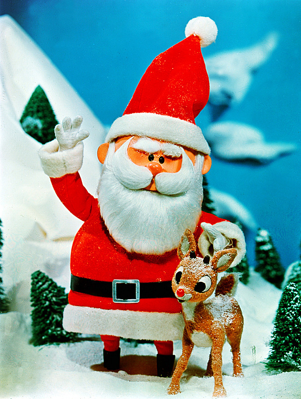 Santa Claus From Rudolph , HD Wallpaper & Backgrounds