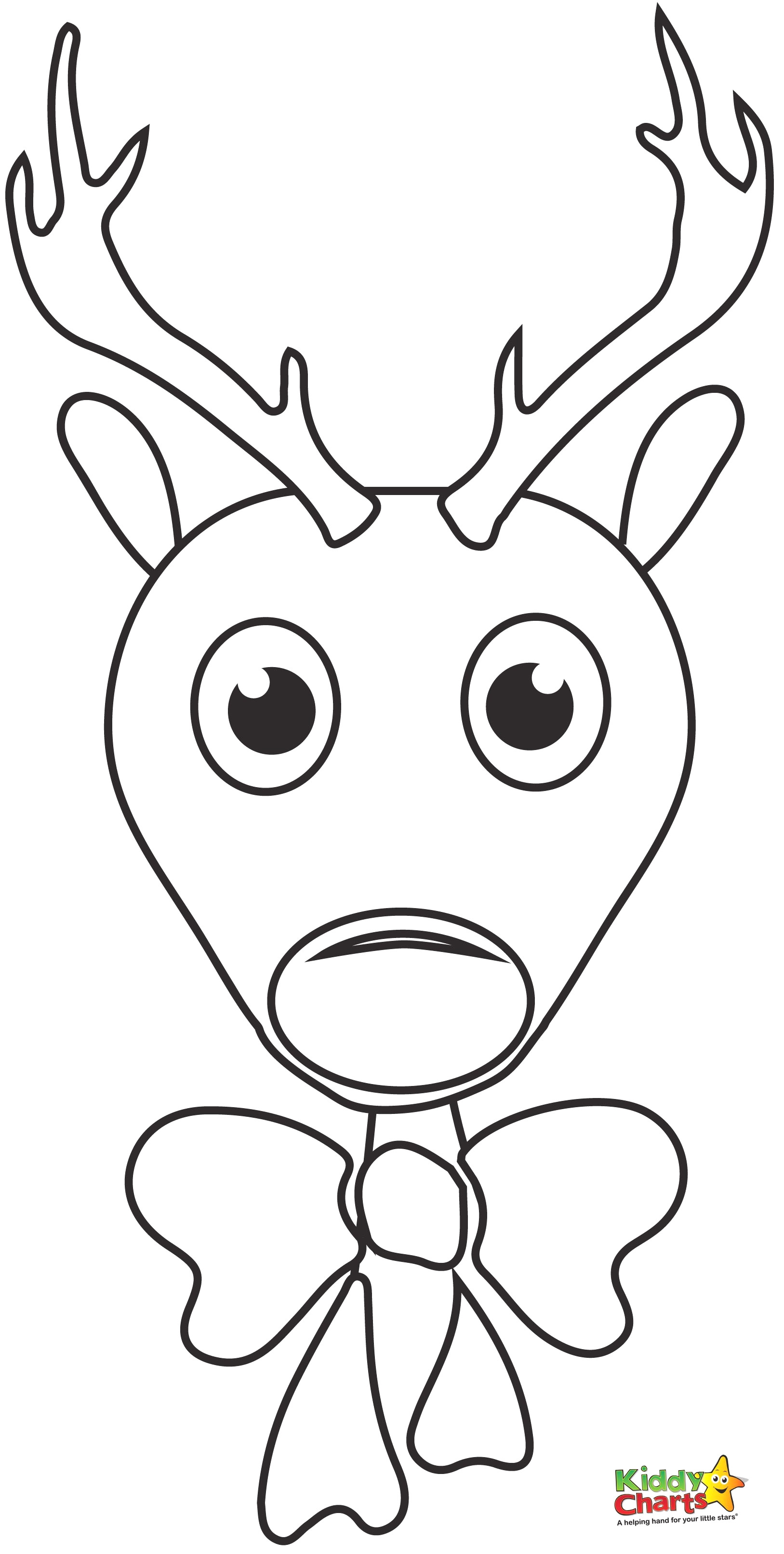 - Coloring Page - Rudolph Reindeer Coloring Page (#1725848) - HD
