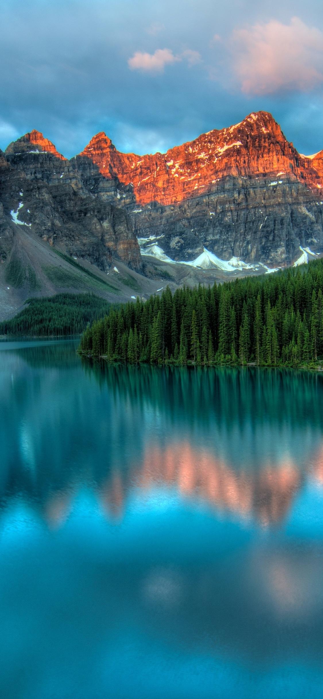 Alberta Canada Moraine Lake 1727798 Hd Wallpaper