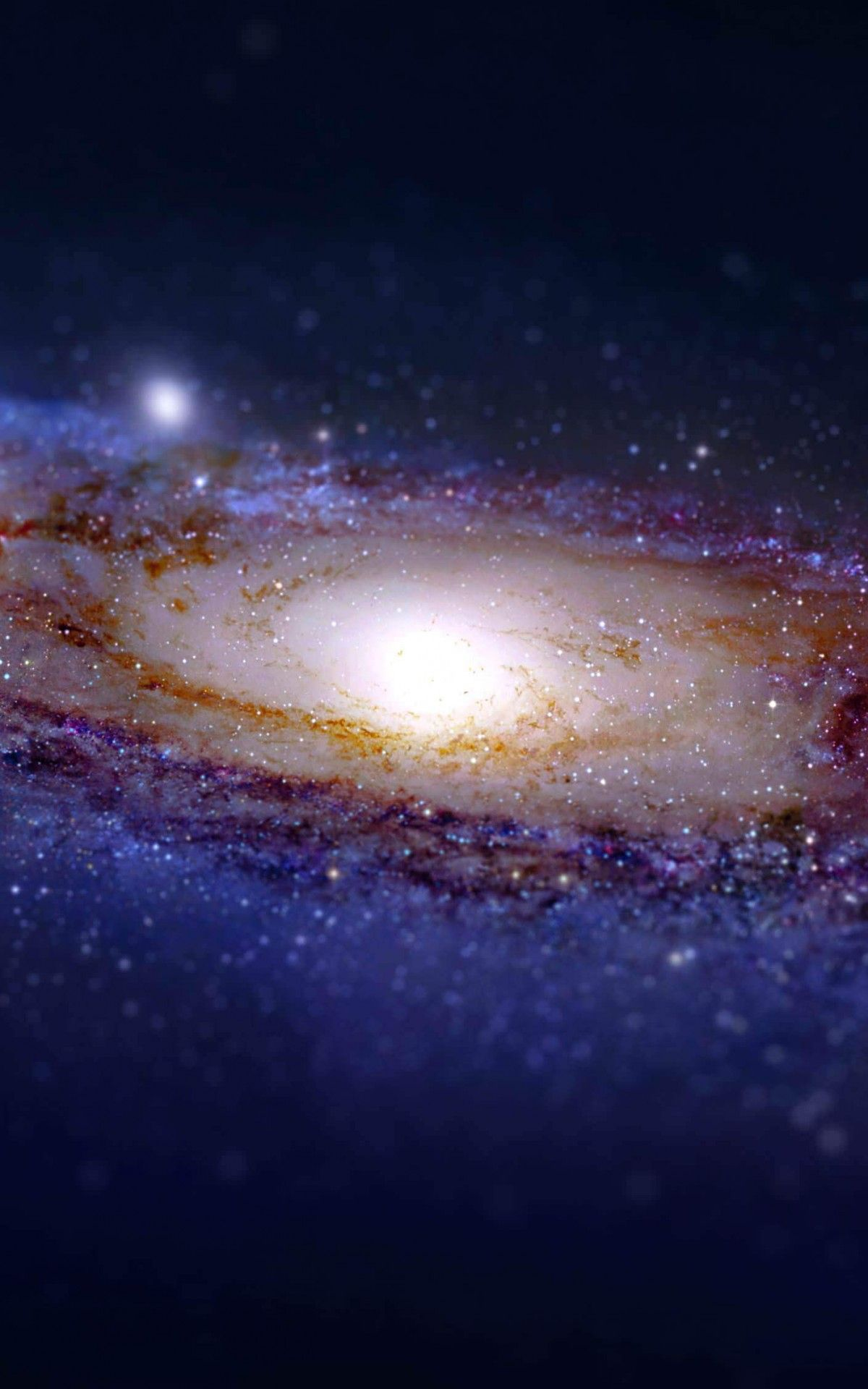 Download Andromeda Galaxy Tilt Shift Hd Wallpaper For