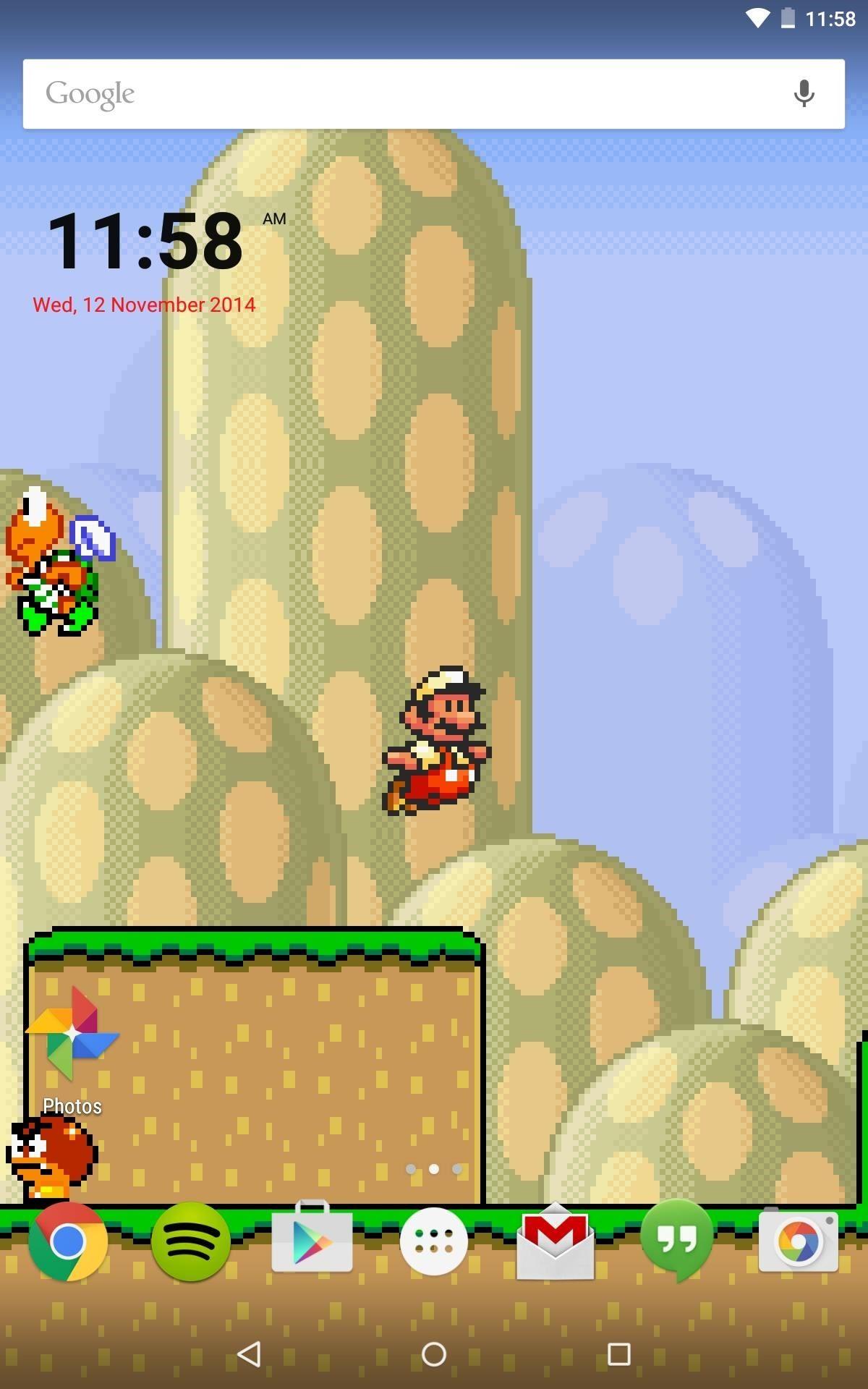 Mario Live Wallpaper Iphone 1728603 Hd Wallpaper Backgrounds Download