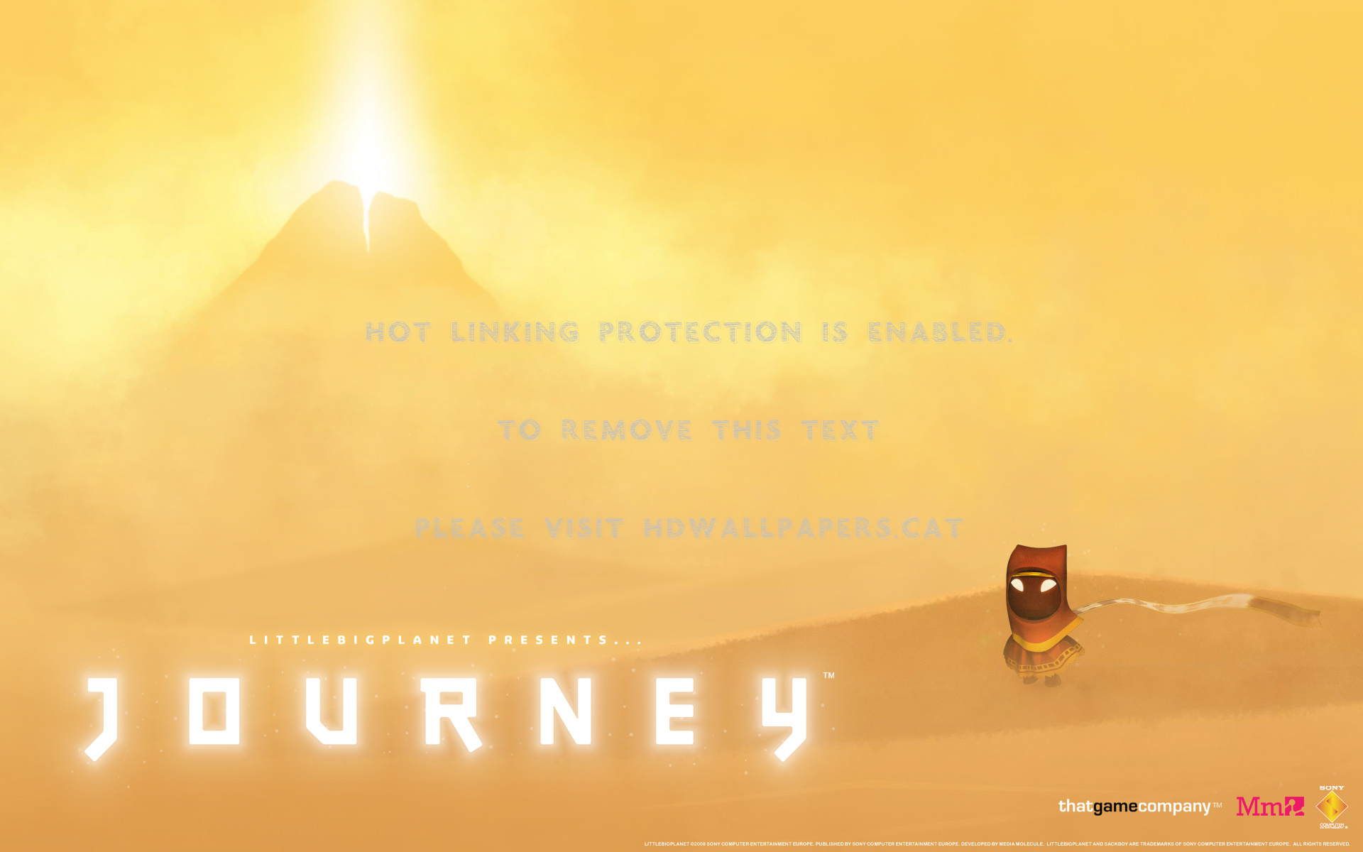Play Station 3 Journey Game , HD Wallpaper & Backgrounds