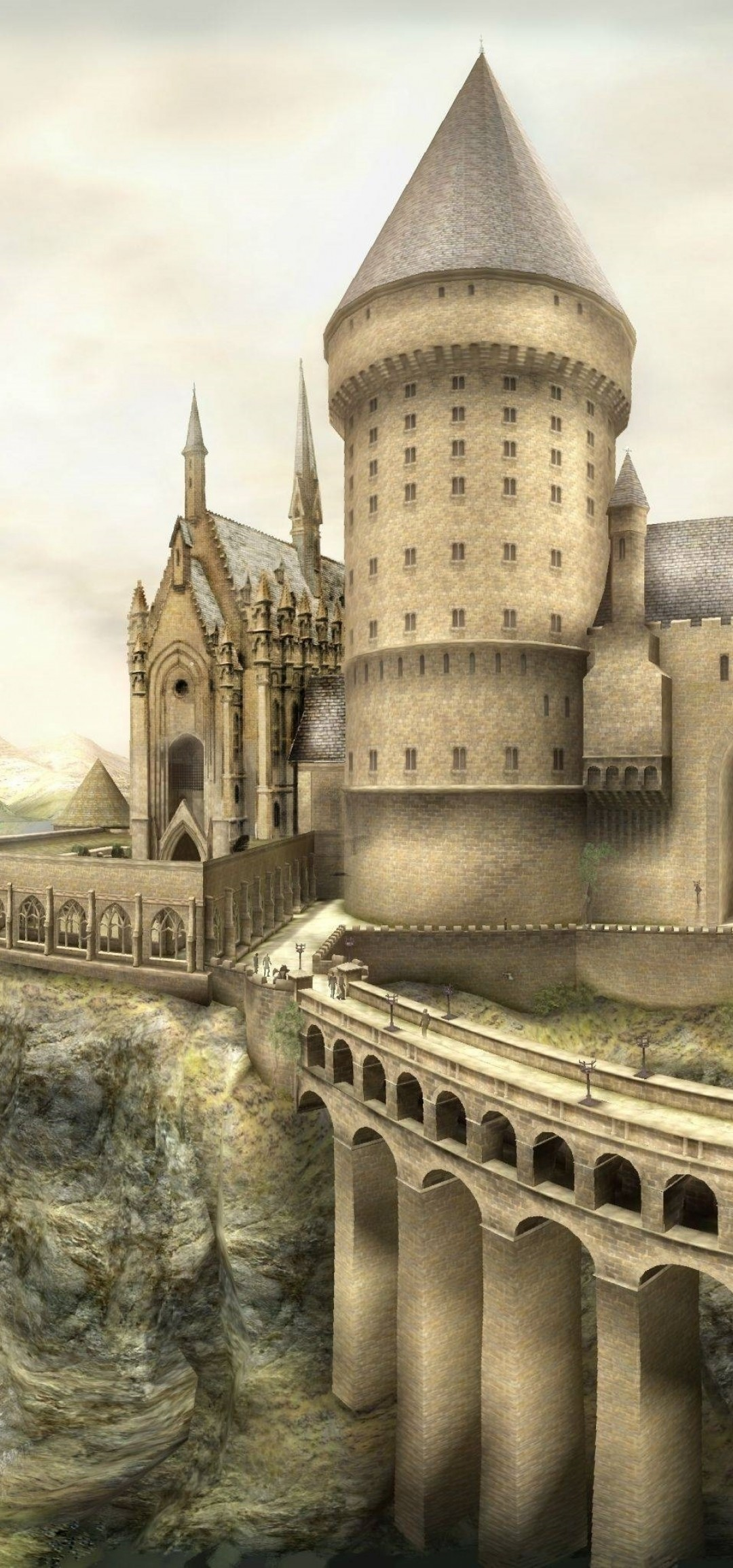 Harry Potter, Hogwarts, Magic School, 3d Model - Hogwarts Order Of The Phoenix , HD Wallpaper & Backgrounds