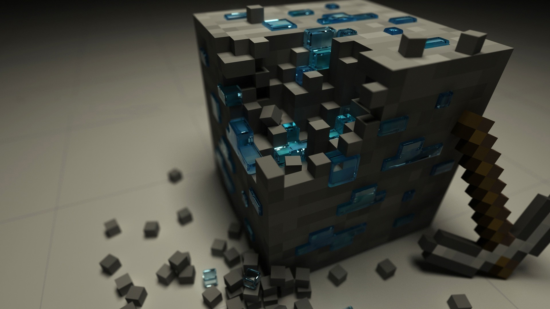 Minecraft 3d Wallpaper And Background Jpg 221 Kb Minecraft