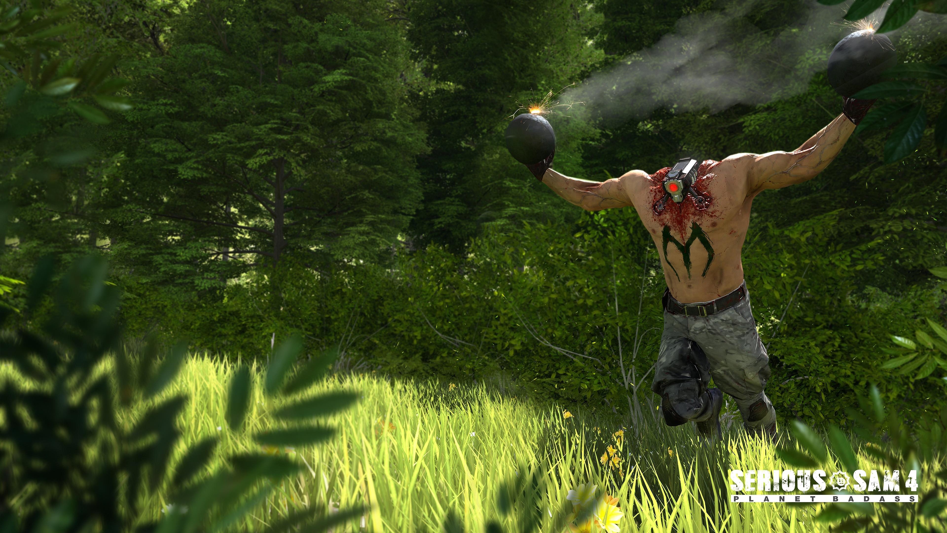 Serious Sam - Serious Sam 4 Planet Badass , HD Wallpaper & Backgrounds